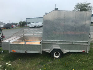 ATV/enclosed trailer all aluminum