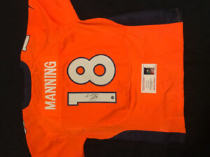 Signed Manning Jersey with authenticity