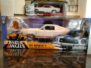 1:18 Diecast Greenlight Charlie's Angels 1976 Mustang Cobra
