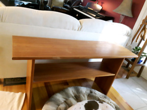 Teak couch table 52 inches wide  X 26 inches high
