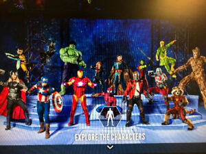 Marvel Universe Live! Age of Heroes. In Hamilton.