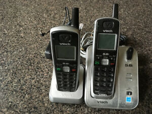 V-Tech CS5111 Cordless Phone - 2 handsets