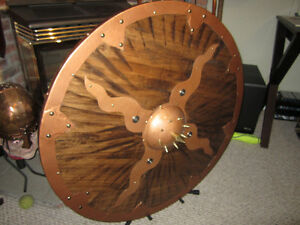 Hand crafted Viking Shield