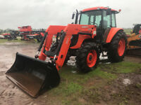 Kubota M108SDSC Tractor Moncton New Brunswick Preview