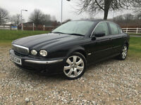 2005 Jaguar X-TYPE 2.0D SE Manual Diesel Saloon in Black