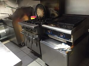 Deep Fryers,Stove,Char broiler small fridge, &more   Kitchener / Waterloo Kitchener Area image 1