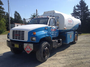 GMC C8500 Top Kick Fuel Truck