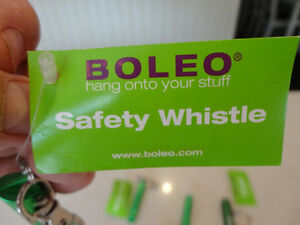 Boleo Personal Safety Alert Whistles & K/C Flashlights $4.00/ea Kitchener / Waterloo Kitchener Area image 2