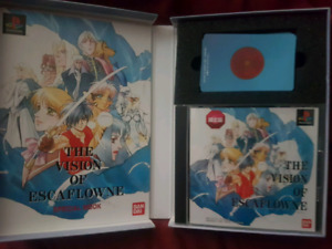 Escaflowne playstation one collector game
