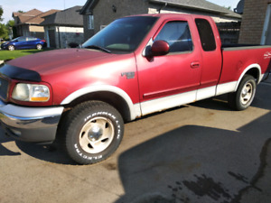 2000 F150 4X4 EXTENDED CAB XLT