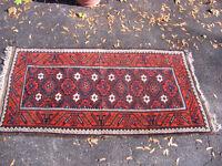 Antique Baluch Mina Khana Rug Carpet