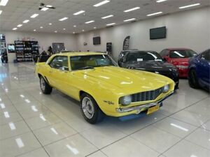 1969 Chevrolet Camaro Yellow 4 Speed Manual Coupe Carss Park Kogarah Area Preview