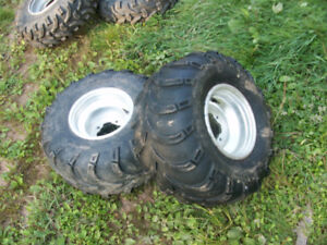 atv rear tires and rims