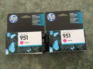 Brand New Sealed  HP 951 Yellow, Magenta and Cyan Cartridges
