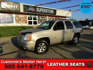2009 GMC Yukon SLT  4X4 LEATH ROOF 8-PASS BOSE DUAL-P/SEATS PARK