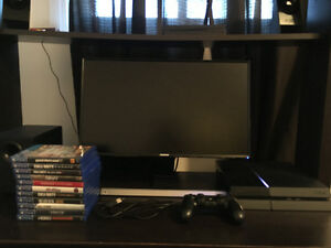PS4 with all cords, controller and 11 games