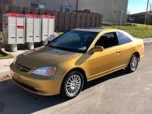 gold 2002 honda civic-si-daily driver!- till sold-