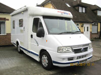 Dethleffs Globetrotter Bus 2, Motorhome Camper For Sale, Only 60k miles from new