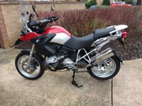 BMW R1200gs Winter Project