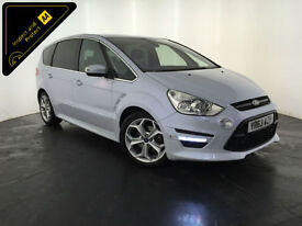 2013 63 FORD S-MAX TITANIUM X SPORT TDCI DIESEL 7 SEATS 1 OWNER FINANCE PX