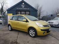Nissan Note 1.4 16v SE (yellow) 2007