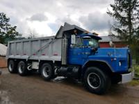 Dependable Tri Axle Dump Truck for hire!