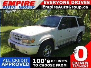 1999 FORD EXPLORER LIMITED * 4WD * LEATHER * SUNROOF