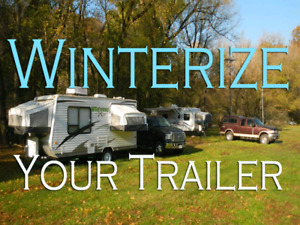 Mobile RV Winterizing Comes To You
