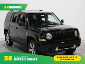 2017 Jeep Patriot High Altitude Edition 4X4 CUIR TOIT OUVRANT A/