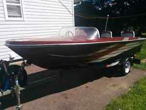 All equip 14FT boat & trailer