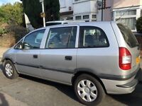 VAUXHALL ZAFIRA DTI 7 SEATER 1 OWNER FROM NEW