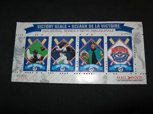 "1992-1993 Blue Jays Limited Edition Canada Post ""Victory Seals"""