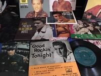 Elvis records ep job lot HMV and rca in excellent condition