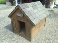 Beautiful Homemade Doghouse