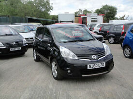 2010 Nissan Note 1.6 N-TEC AUTOMATIC. Only 54,000 miles.