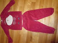 Pyjamas noel 3 ans 5 $