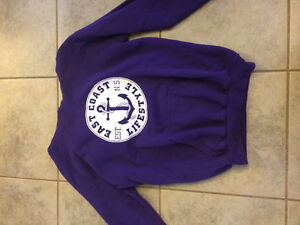 East Coast Lifstyle hoodie youth Large