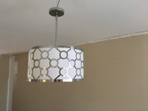 2 pendant lights for sale