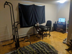sublet. 1 bedroom apartment nearby st vital shopping center