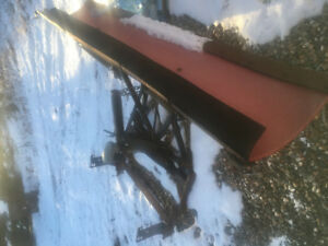 7 foot Snow Plow. Quick change composite