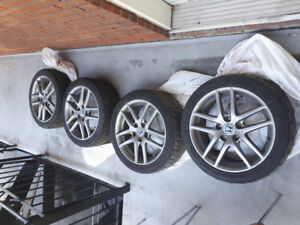 Mags Honda Accord Euro R JDM 17 pouces