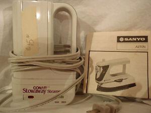 Sanyo portable iron