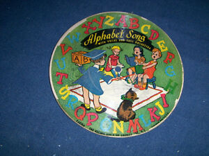 ALPHABET SONG-COUNTING SONG-1940S CHILDREN'S RECORD-U.S.A.