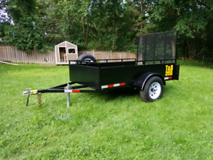New HD Utility Trailer 5x8 Private