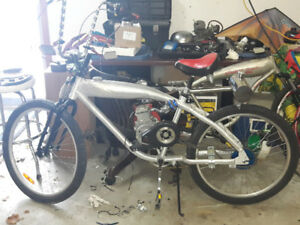 motorized bicycle project