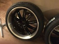 VW,Audi,Ford Deep Dish 19inch Staggered Alloys