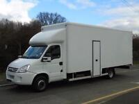 2009 59 IVECO-FORD DAILY 65C18 3.0HPT 180BHP XLWB 20FT 6IN INTEGRAL LUTON VAN +I