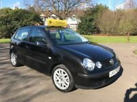 Volkswagen Polo 1.4 75 PS SE Auto (black) 2007