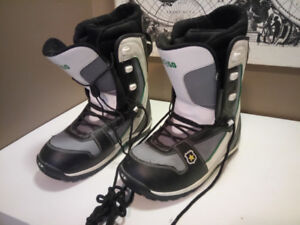 Mens Snowboard Boots - Size 10 US - $40