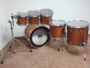Yamaha Birch Custom Absolute. Hybrid Maple snare.